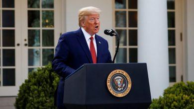 Photo of ترامب : وفاة 200 ألف شخص في الولايات المتحدة بكورونا ستكون نتيجة جيدة والذروة بعد أسبوعين