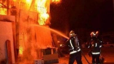 Photo of الدفاع المدني يخمد حريقين في دير البلح ومدينة غزة