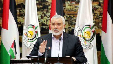 Photo of إسماعيل هنية يوجه رسالة هامة الى الشعب الفلسطيني