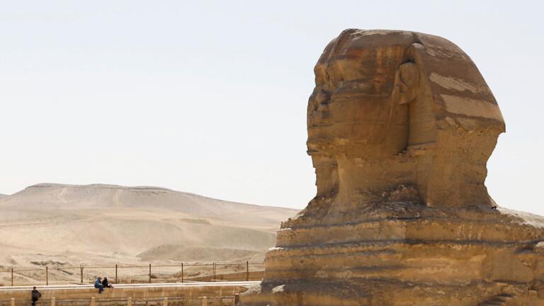 مصر تعلن عن اكتشاف أثري جديد خلال تطهير منطقة أبو الهول من كورونا