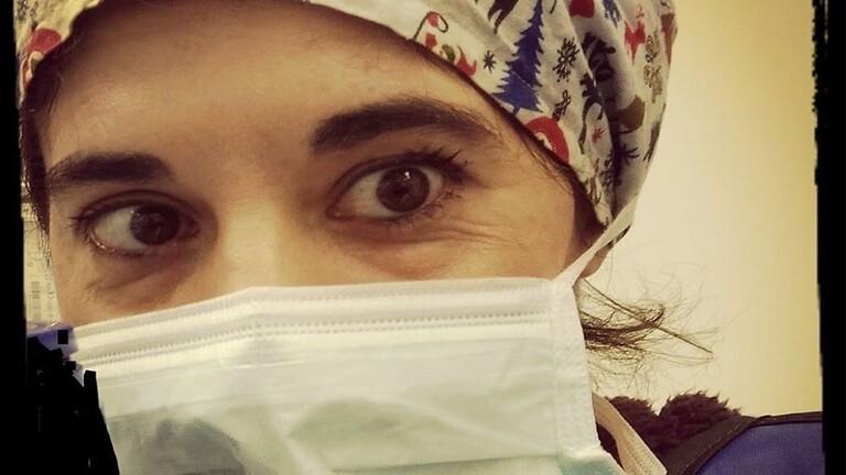 ممرضة إيطالية