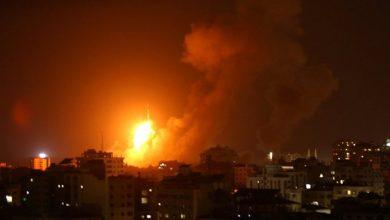 Photo of #فيديو القصف المدفعي من الجيش الليلة على حدود غزة
