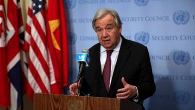 Photo of الأمين العام للأمم المتحدة يدعو إلى وقف إطلاق النار في جميع أنحاء العالم والتركيز في محاربة فيروس كورونا