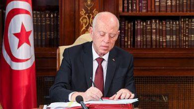 Photo of قيس سعيّد : تونس تضع كافة امكانياتها تحت تصرف الأشقاء في فلسطين