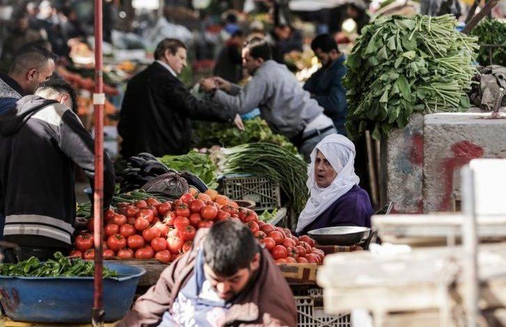 أسعار الخضروات والفواكه في أسواق غزة اليوم الجمعة 03/04/2020