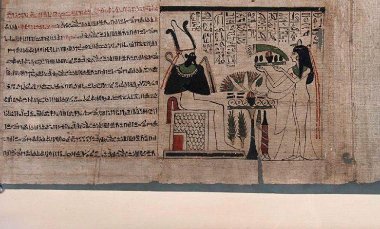 اكتشاف الحبر الذي استخدمه الإنسان للكتابة قبل ألف عام