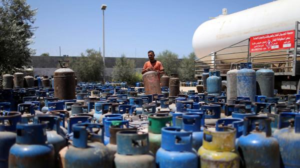 وزارة الاقتصاد بغزة توضح حقيقة تسبب الغاز المصري بالحرائق الأخيرة