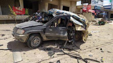 Photo of صور ..غارة إسرائيلية استهدفت سيارة على طريق دمشق-بيروت