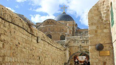 Photo of كنيسة القيامة مغلقة في عيدها لأول مرّة منذ 100 عام