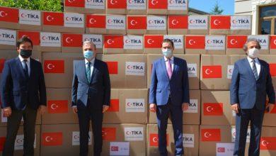 """Photo of """"التنمية"""" تتسلم من """"تيكا"""" التركية 2500 طرد غذائي للأسر الفقيرة والمنكشفة"""